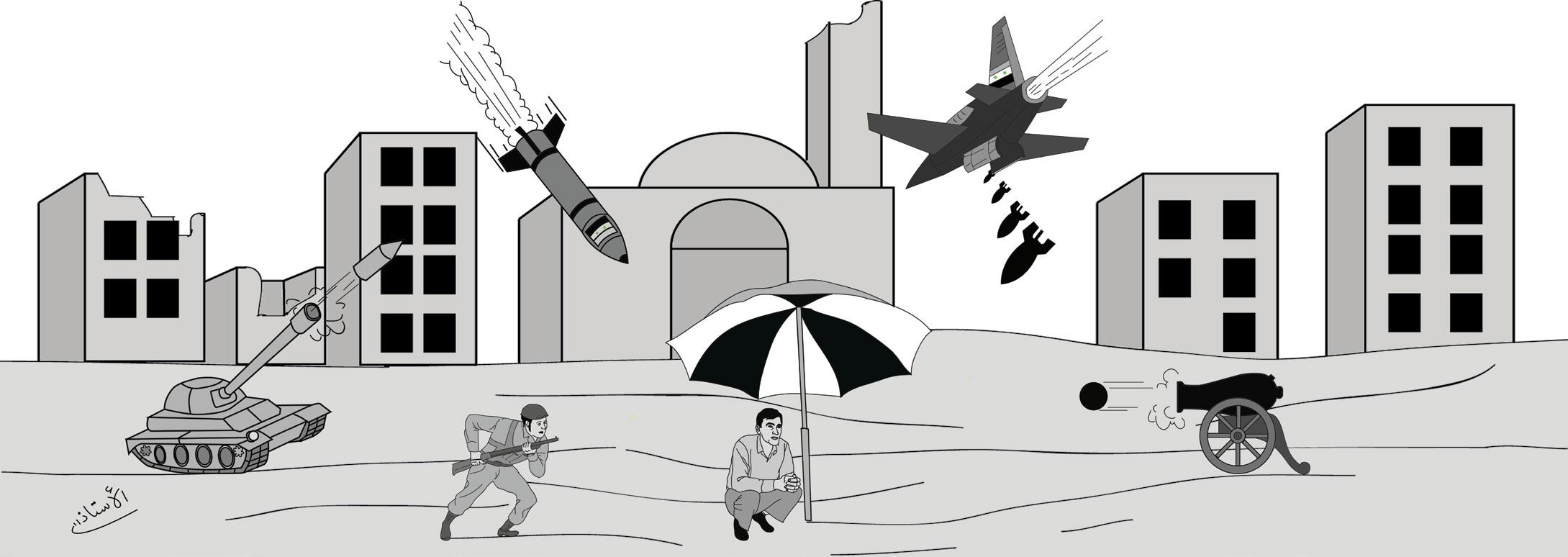 معرض السلاح في الوطن المستباح – يُمنى محمد الخطيب