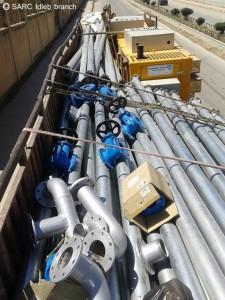 من الإنترنت - معدات لإصلاح شبكات الكهرباء والماء في أرياف إدلب برعاية الهلال الأحمر