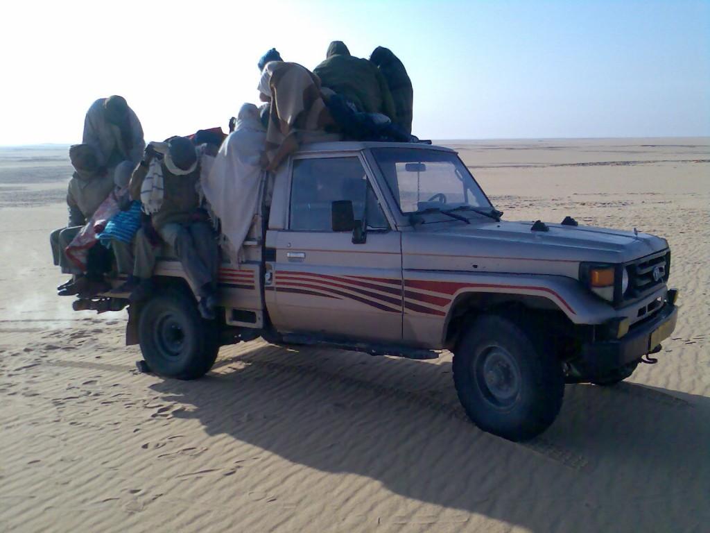 عبور الحدود الليبية