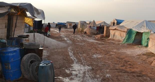 مخيم آطمة…