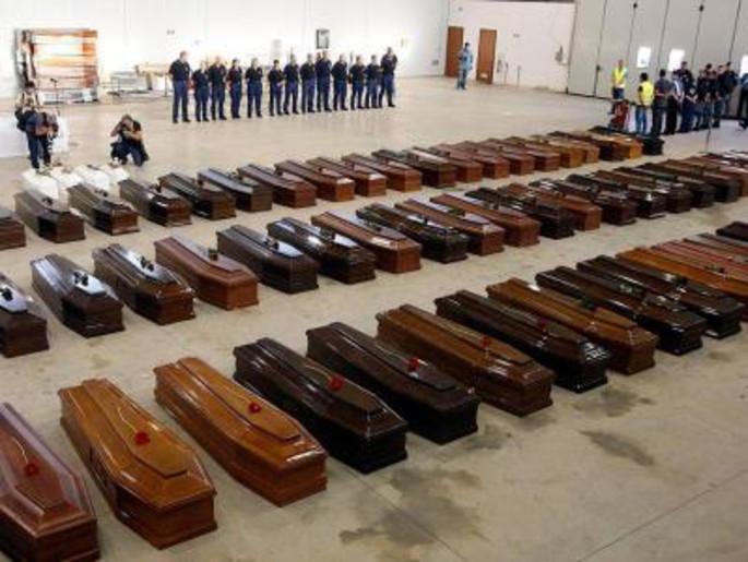 مئات القتلى غرقا على السواحل الإيطالية