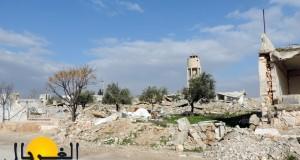 عدسة الغربال: أنقاض في حيش – مروان الحميد