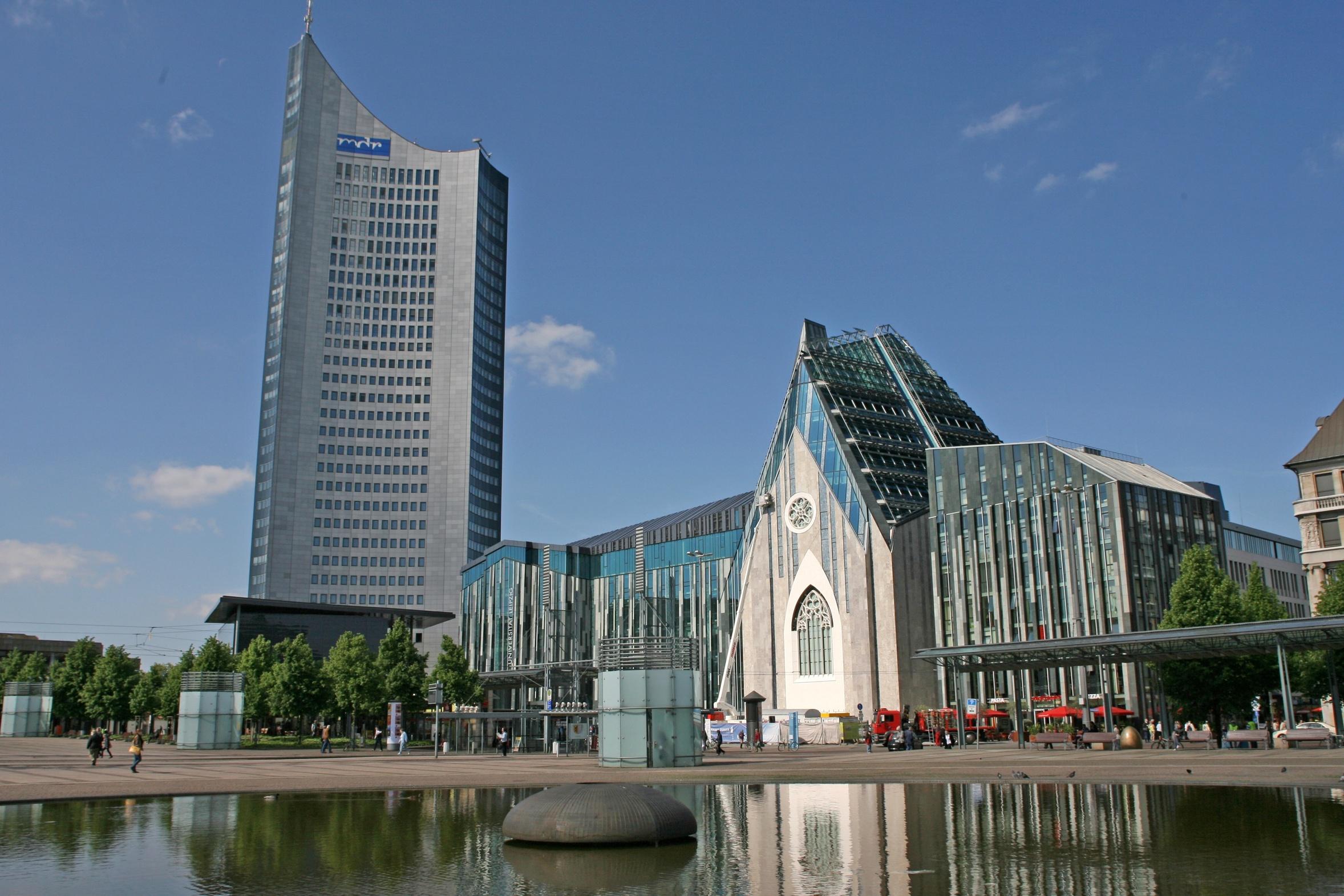 Neubau der Paulinerkirche in Leipzig