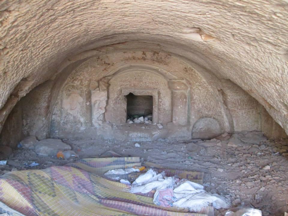 حماة  تعرض العديد من المدافن البيزنطية في الناصرية وغيرها من القرى للحفر غير الشرعي