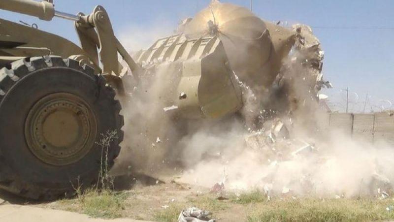 تدمير الاضرحة في سوريا