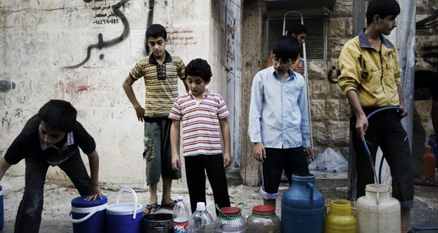 مياه حلب.. الأزمة القديمة المتفاقمة – زينة عادل