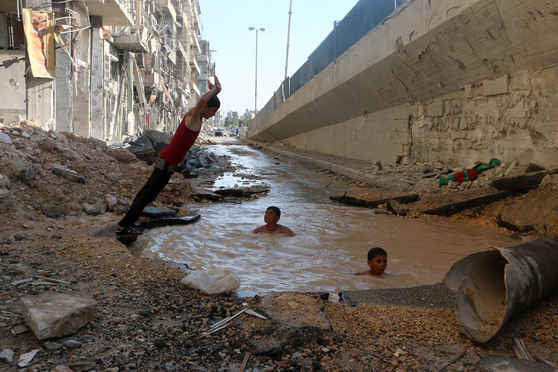 SYRIA-CONFLICT-CHILDREN-DAILYLIFE