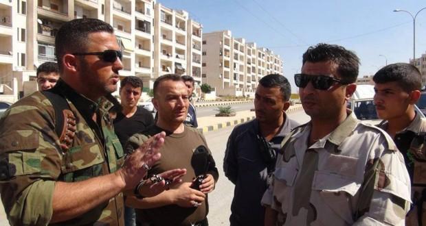 القصة الكاملة للواء شهداء بدر وقائده خالد حياني – رامي سويد