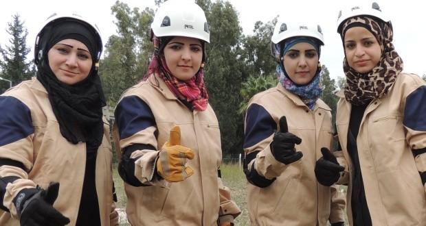 العمل التطوعي فرصة أبناء سوريا لاكتشاف أنفسهم – سما الإبراهيم