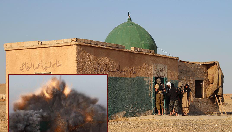 مقام ابو القبة الخضرا من الرقة
