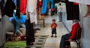 نازحو اللاذقية يواجهون الموت جوعاً ومرضاً – محمد عثمان