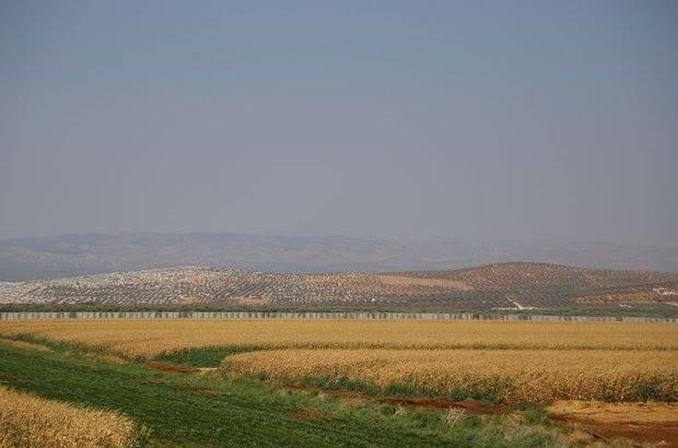 الجدار الفلاصل من الجانب التركي من الحدود