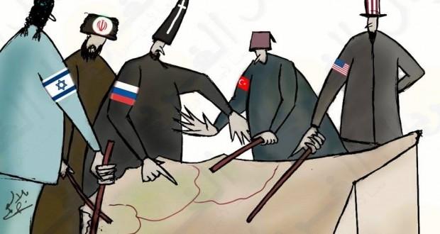 كريكاتير: عن تقاسم سوريا