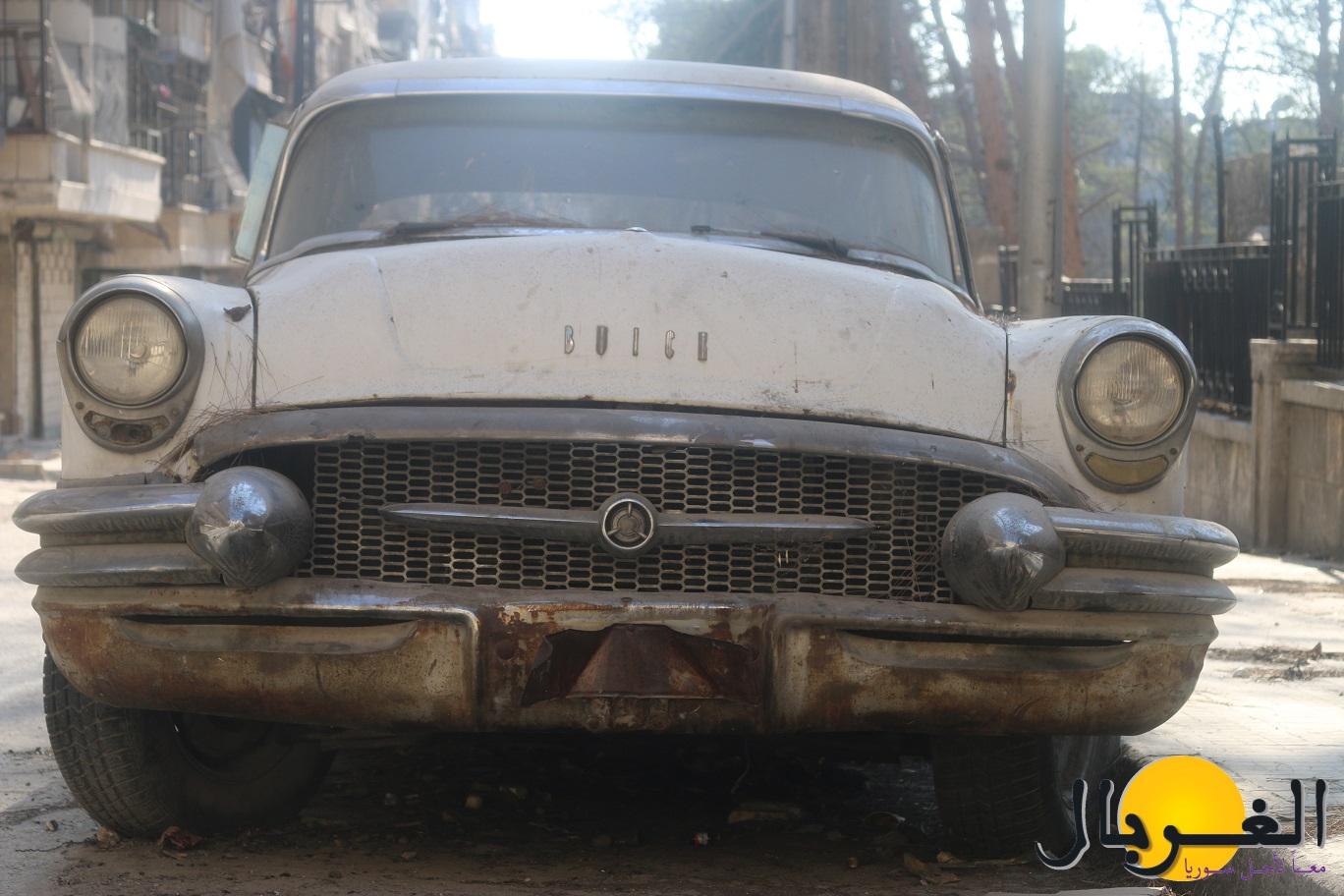 سيارة بويك 1951 التي كانت لأديب الشيشكلي