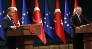 قمة أوربية تركية يوم الأحد للحد من تدفق اللاجئين إلى أوربا
