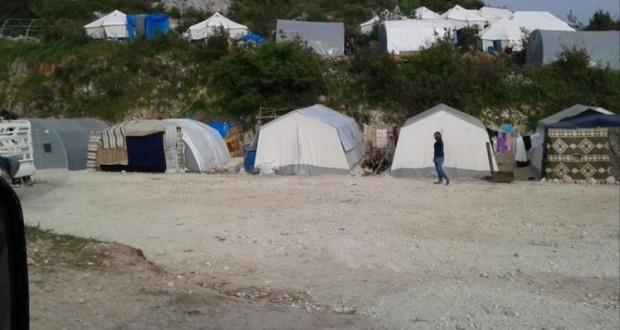 مخيم جديد للاجئين السوريين في تركيا على الشريط الحدودي مع سوريا