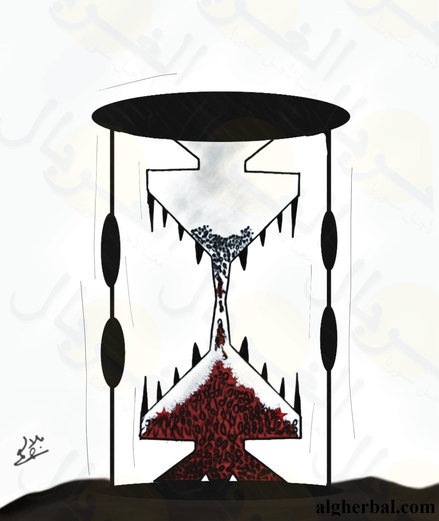 زمن الموت السوري