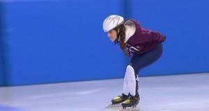 إنانا.. طفلة سورية تتفوق برياضة التزلج بفرنسا