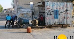"""استهداف """"نفط داعش"""" يحرم سكان حلب ولاجئي الداخل من المحروقات – محمود عبد الرحمن"""