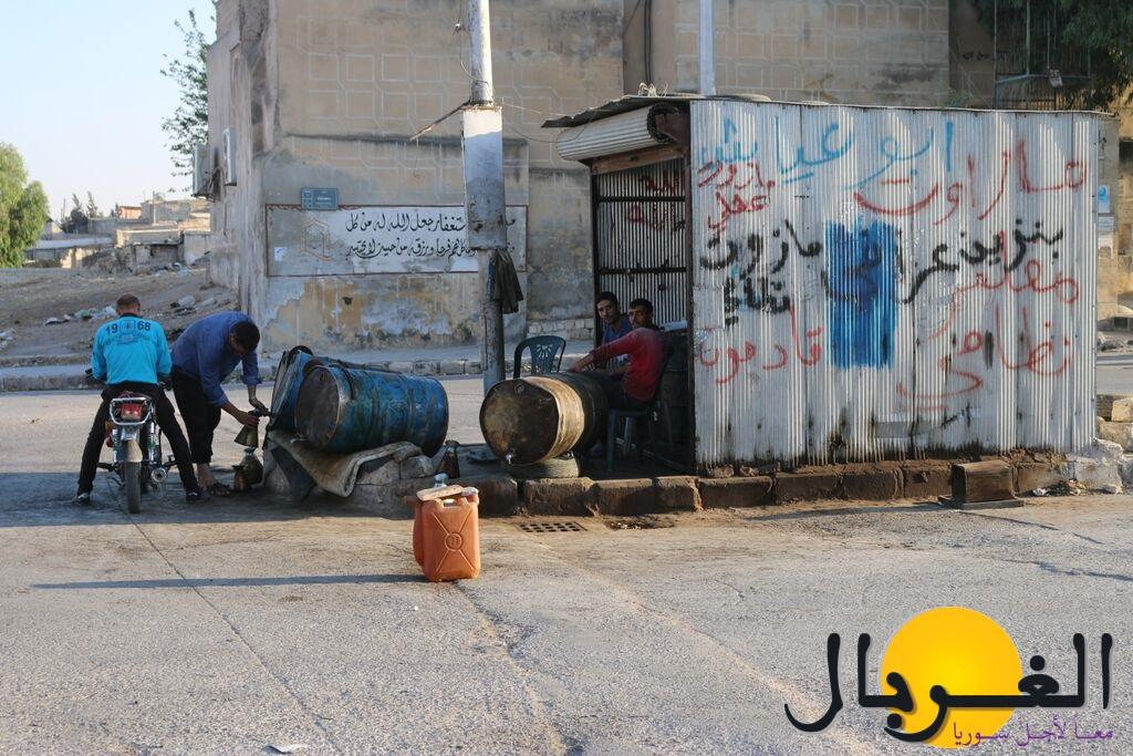 ارتفاع اسعار المحروقات جعل الاقبال عليها ضعيفاً – حلب محمود عبد الرحمن – Copy