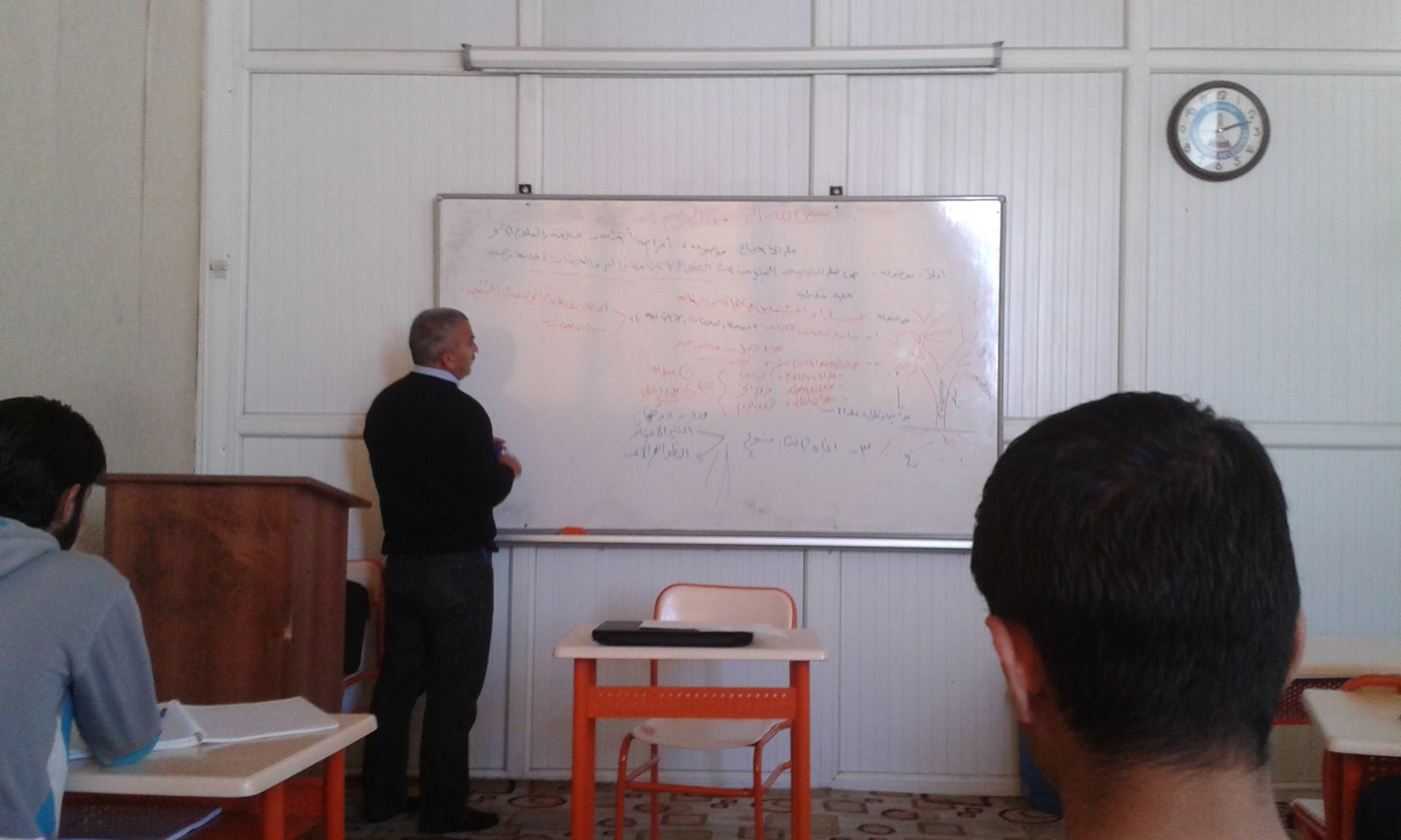 تشهد الكليات النظرية في الجامعات السورية الخاصة بتركيا إقبالاً جيداً