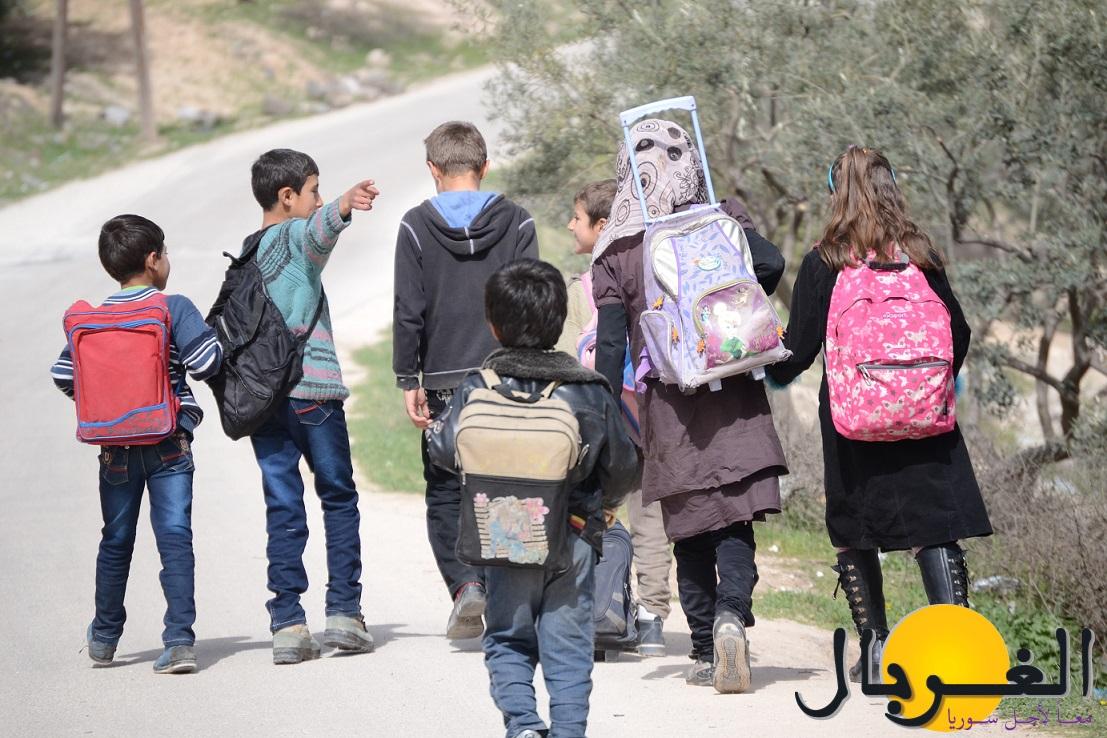 عدد قليل من الطلاب هذا العام تمكن من العودة للمدرسة في ريف إدلب – Copy