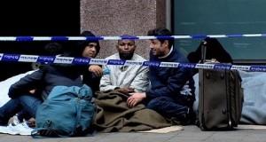 طالبو اللجوء ببلجيكا تحت رحمة البرد