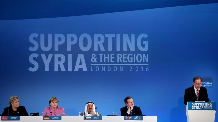 مؤتمر مانحي سوريا