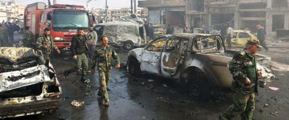 تفجيرات حمص