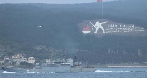 روسيا تجلب مزيد من القطع البحرية إلى سوريا