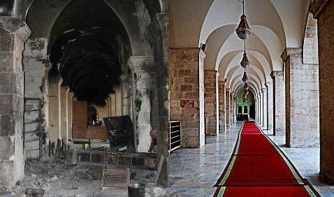طال الحريق الجامع الأموي