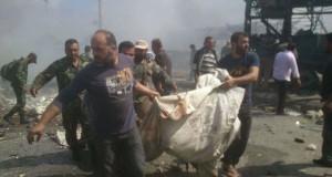 """112 قتيل وأكثر من 200 جريح حصيلة تفجيرات طرطوس وجبلة الأولية و""""داعش"""" يتبنى"""