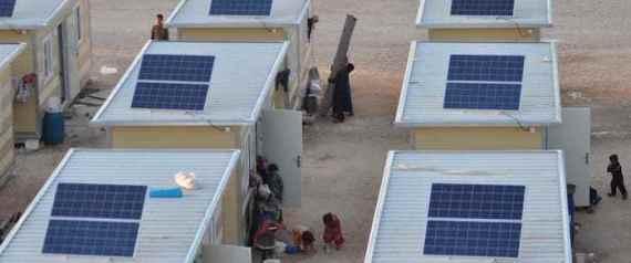 السوريون يلجأون للدراجات والطاقة الشمسية للحصول على الكهرباء