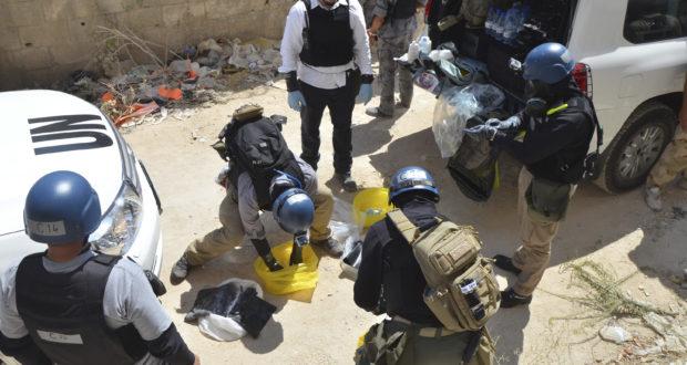 التمديد للجنة التحقيق في الأسلحة الكيماوية بسوريا والنظام يواصل قصف المدنيين بها – خاص الغربال