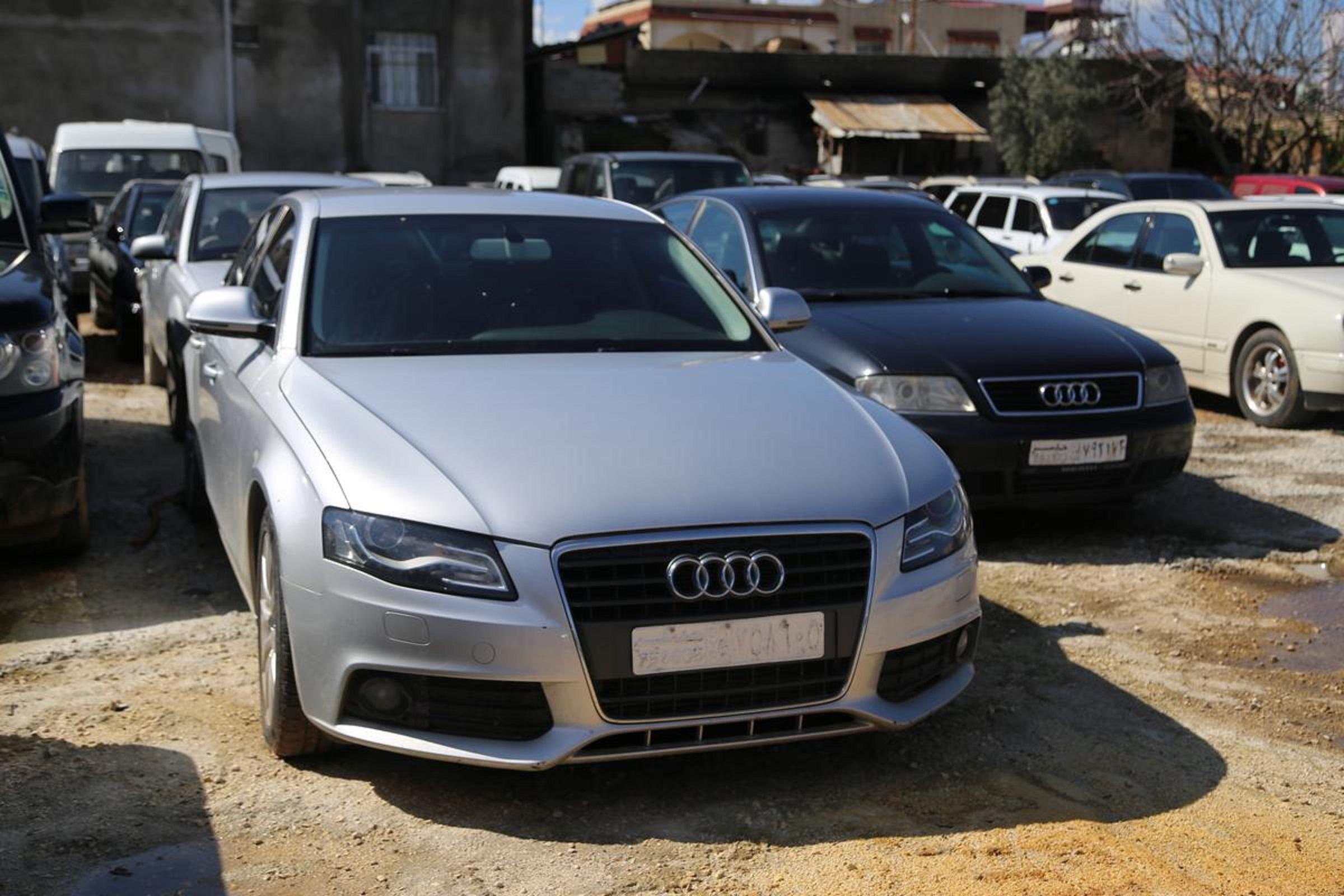 انتشرت السيارات الأوربية المستعملة في أسواق الشمال السوري