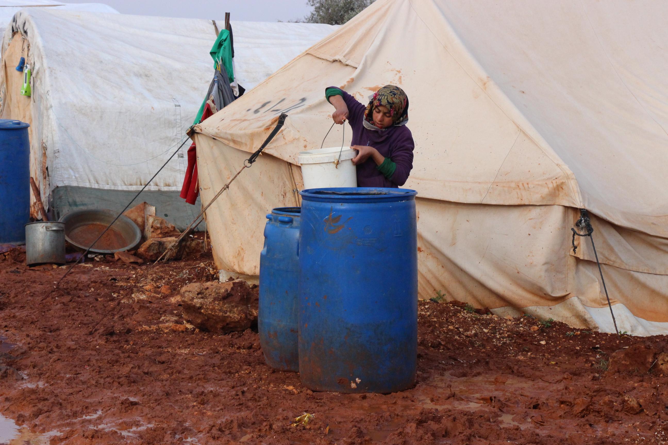 الأطفال أكثر المتأثرين بالحرب السورية – وضحة العثمان