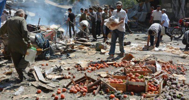 مقتل أكثر من 1000 مدني سوري في نيسان نصفهم على يد النظام